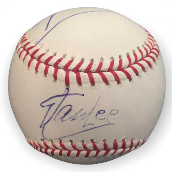 """Stan Lee Signed Major League Baseball *RARE* Inscribed """"Spider-Man"""" Marvel PSA"""