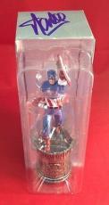 "Stan Lee signed Marvel Captain America 6"" Figure PSADNA  # X72130"
