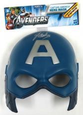 Stan Lee Signed Marvel Captain America Avengers Mask PSA/DNA #5A03283