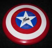 Stan Lee Signed Marvel Captain America Shield Jsa Coa