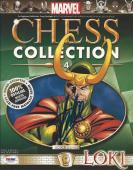 Stan Lee signed Marvel Chess Collection #4 PSA/DNA #X72159