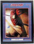 """Stan Lee Signed Marvel Comics """"spider-man"""" 16x20 Photo Framed Psa/dna #ac32393"""