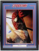 """Stan Lee Signed Marvel Comics """"spider-man"""" 16x20 Photo Framed Psa/dna #ac32395"""