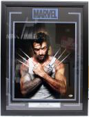 "Stan Lee Signed Marvel Comics ""wolverine"" 16x20 Photo Framed Beckett Bas #c87544"