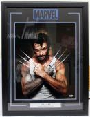 "Stan Lee Signed Marvel Comics ""wolverine"" 16x20 Photo Framed Beckett Bas #c87545"