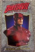 Stan Lee Signed Marvel DAREDEVIL Mini Bust #'d Statue W/ Stan Lee Hologram