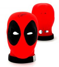 Stan Lee Signed Marvel Deadpool Head Bank