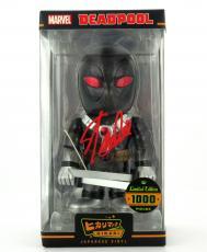 Stan Lee Signed Marvel Deadpool X-Force Funko Hikari - LE 1000