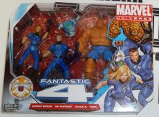 Stan Lee Signed Marvel Fantastic 4 Action Figure Toy Set PSA/DNA COA Autograph