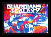 Stan Lee Signed Marvel Guardians of the Galaxy Vol. 2 Framed Poster