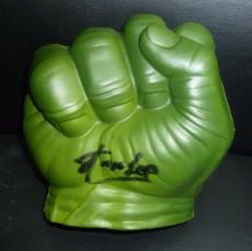 Stan Lee Signed Marvel Incredible Hulk Hand PSA/DNA COA Autograph Avengers 2 3 R