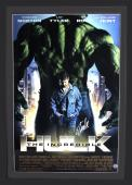 Stan Lee Signed Marvel Incredible Hulk Official Motion Picture Double Sided Original Framed Movie Poster