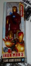 Stan Lee Signed Marvel Iron Man 3 Action Figure PSA/DNA COA Autograph Avengers