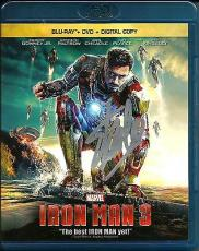 Stan Lee Signed Marvel Iron Man 3 Blu Ray GOLD COMBO DVD W/ Stan Lee Hologram