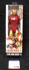 Stan Lee Signed Marvel Iron Man 3 Titan Hero Action Figure Psa/dna W27805 + Holo