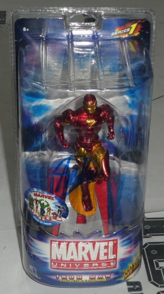 Stan Lee Signed Marvel Iron Man Collectible Figurine PSA/DNA COA Auto'd Avengers