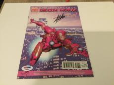 Stan Lee Signed Marvel Iron Man Comic Book Variant Edition 536 PSA/DNA COA