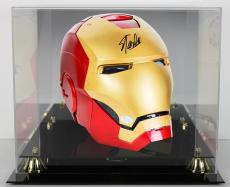 Stan Lee Signed Marvel Iron Man Legends Series Helmet w/ Box & Case JSA Witness