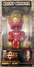 Stan Lee Signed Marvel IRON MAN THE AVENGERS Bobble Head W/ Stan Lee Hologram