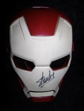 Stan Lee Signed Marvel Ironman Hero Mask Avengers Jsa Coa