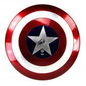 Stan Lee Signed Marvel Legends Captain America Premium Full Size Shield