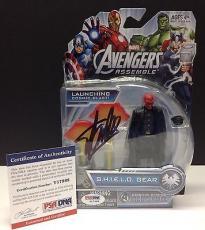 Stan Lee Signed Marvel RED SKULL Action Figure - PSA/DNA # Y17988
