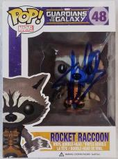 Stan Lee Signed Marvel Rocket Raccoon Funko Pop Figurine Box PSA Auto Y34343