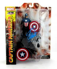 Stan Lee Signed Marvel Select Avengers Captain America Action Figure