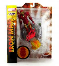 Stan Lee Signed Marvel Select Avengers Iron Man Action Figure