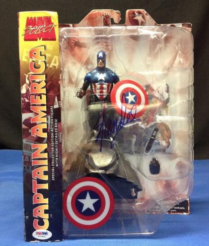 Stan Lee signed Marvel Select Captain America Figure PSA/DNA  #X72442