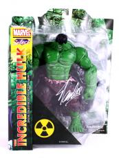 Stan Lee Signed Marvel Select Incredible Hulk In-Box Action Figure