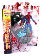 Stan Lee Signed Marvel Select Spider-Man In-Box Action Figure