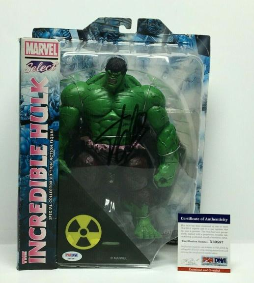 Stan Lee Signed Marvel Select The Incredible Hulk Action Figure PSA X60587