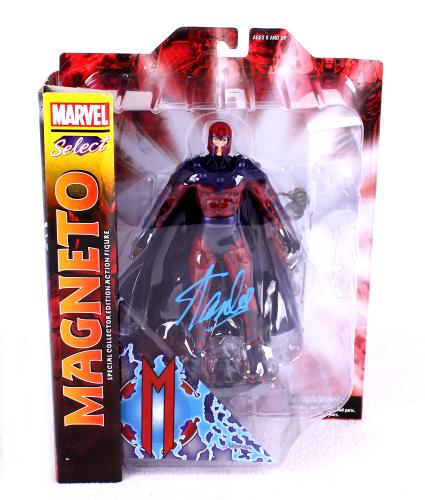 Stan Lee Signed Marvel Select X-Men Magneto In-Box Action Figure