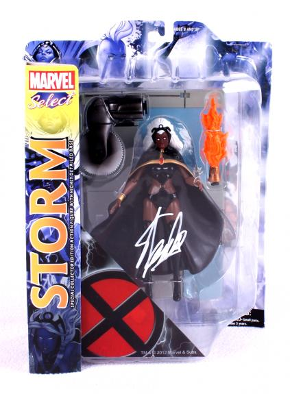 Stan Lee Signed Marvel Select X-Men Storm In-Box Action Figure