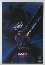 Stan Lee Signed Marvel Spider-Man Original IMAX 20x13 Movie Poster