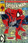 Stan Lee Signed Marvel Spider-Man The Legend of the Arachknight - Torment Part 1 of 5 Comic Book - Todd McFarlane