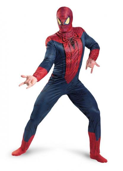 Stan Lee Signed Marvel Spiderman Movie Full Adult Costume W/ Stan Lee Hologram