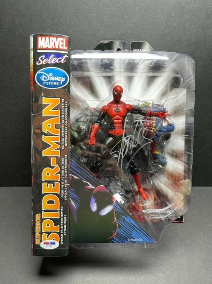Stan Lee Signed Marvel Superior Spider-Man Action Figure PSA W77897