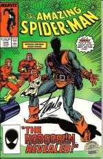 Stan Lee Signed Marvel The Amazing Spiderman #289 Comic w/ Stan Lee Hologram