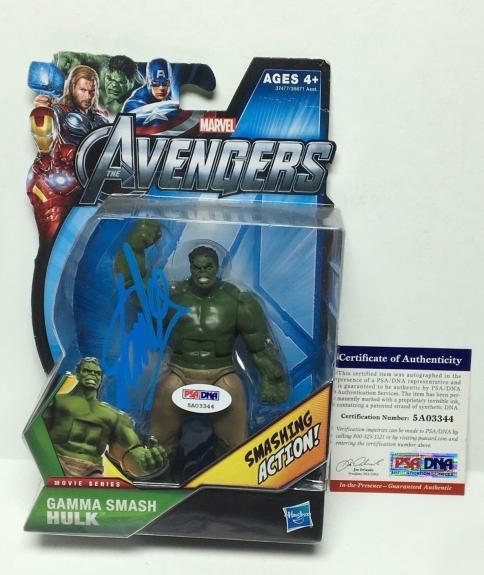 Stan Lee Signed Marvel 'The Avengers: Hulk' Action Figure PSA 5A03344