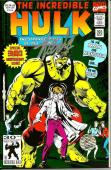 Stan Lee Signed Marvel The Incredible Hulk #393 Comic w/ Stan Lee Hologram