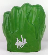 Stan Lee Signed Marvel The Incredible Hulk Smash Hand PSA/DNA