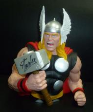 Stan Lee Signed Marvel THOR Action Figure Bank PSA/DNA COA Autograph Avengers