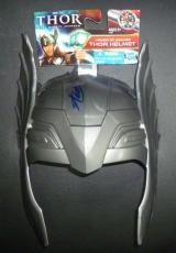 Stan Lee Signed Marvel THOR Helmet Toy Hero Mask PSA/DNA COA Autograph Avengers