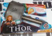 Stan Lee Signed Marvel THOR Lightning Hammer PSA/DNA COA Auto'd Avengers Hasbro