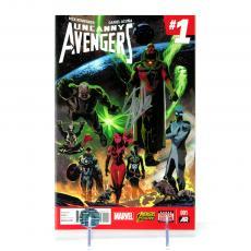 Stan Lee Signed Marvel Uncanny Avengers #1 Variant Edition Comic Book - Remender