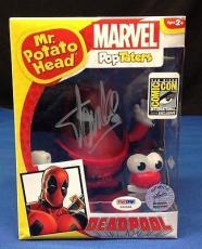 Stan Lee signed Mr. Potato Head Deadpool Pop Taters Figure PSADNA  #X60588