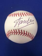 Stan Lee Signed Official Major League Baseball Marvel BAS #B86438