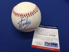 Stan Lee Signed Official Major League Baseball *Marvel  PSA/DNA  #X72590